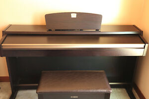 Yamaha Clavinova Electric Piano And Bench (Excellent Condition)
