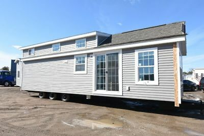 Tiny Home 12 X 37 - Cassone Pre Fab Housing - Trailer - Green Living