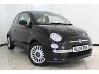 2009 09 FIAT 500 1.2 LOUNGE 3DR 69 BHP