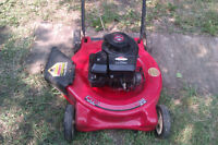 Lawnmowers to trade for 1 decent electric lawnmower