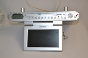 Under cabinet Tv/FM/DVD player