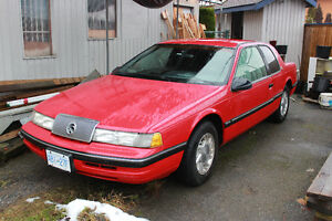 1990 Mercury Cougar Coupe (2 door)