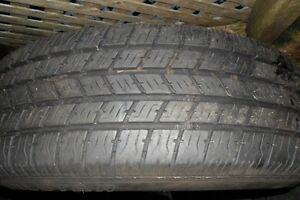 four tires on rims