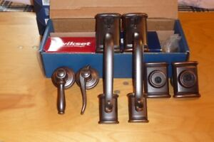 Weiser Door Handle and Knob Sets-Priced To Sell