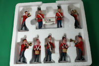 Lemax Christmas Village  Parade Marching Band 8 pieces