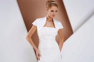 Bridal Jackets, Lace, Taffeta, Satin Boleros and Body wrap