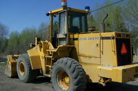 FOR SALE 624E JOHN DEERE FRONTEND LOADER
