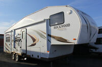 2012 Luxury ROCKWOOD 5th wheel 8288WS Loaded and Ready