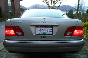 1997 Mercedes-Benz E-Class E420 Sedan North Shore Greater Vancouver Area image 3