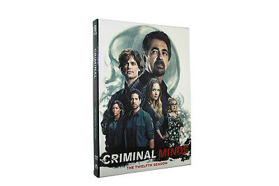 Criminal Minds Season 12 (DVD, 5-Discs ) Free shipping