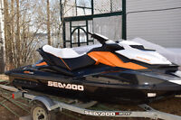 Sea Doo GTR 215 with Sea Doo trailer and cover for sale!