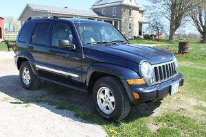 2006 Jeep Liberty CRD Limited SUV, Crossover