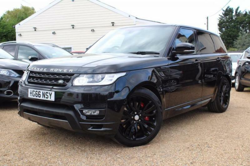 2017 66 land rover range rover sport 4 4 sdv8 autobiography dynamic 5d auto 339 in wickford. Black Bedroom Furniture Sets. Home Design Ideas