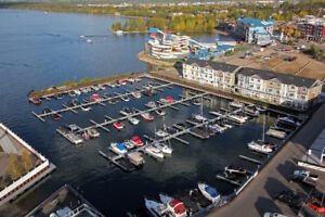 Boat slip for rent in the Watersedge marina at Sylvan Lake