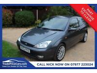 2002 52 FORD FOCUS 1.6 ZETEC CHIC 3D 100 BHP CHEAP CAR