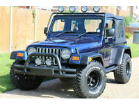 Jeep Wrangler 4.0 Extreme Sport Stunning High Spec!! BARGAIN PRICE!!