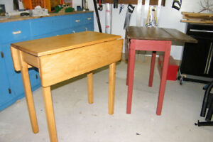 Custom Drop Leaf Tables - Make the Most of the Space You Have