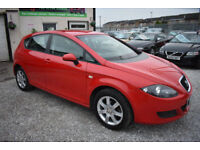 Seat Leon 1.6 2007MY Reference 5 DOOR RED+STUNNING