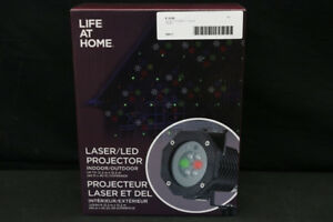Life At Home Laser/LED Decorative Lighting Projector (#19061)