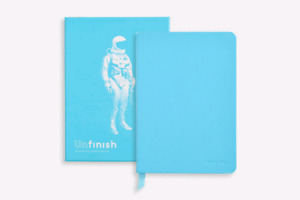 Unfinish Interactive Notebook by Baron Fig Now $10