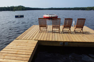 Charming cottage with beautiful view on small lake in Muskoka