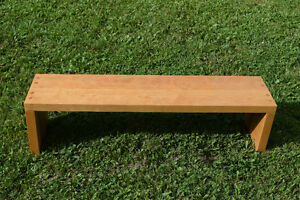 Birch Table or bench