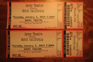 Tickets - Hotel California
