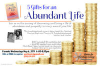 5 Gifts for an ABUNDANT Life! (8 week course)