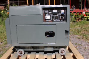 5000 W Silent Diesel Generator,With electric start.
