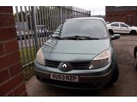 Spares and repairs. Renault Scenic