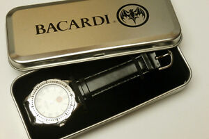 """BACARDI RUM """"BAT-SIGNAL"""" with Collector Tin Case, LIMITED-EDITIO"""