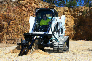 Digga Bigfoot skid steer / Bobcat trencher attachment