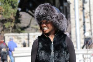 The Malahai Fur Hats - 100%handmade ! Natural Fur !
