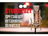 Vocal Recording Service