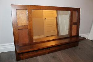 Ensemble miroir et banc d'entrée/Set mirror and bench for foyer