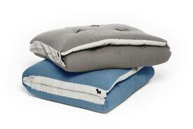 BRAND NEW UNUSED Zip Up Futon Company Elegant Grey Mattress £55 ONO