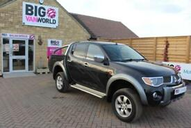 2007 MITSUBISHI L200 ANIMAL DI-D LWB DOUBLE CAB WITH ROLL'N'LOCK TOP PICK UP DIE