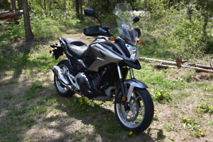 2016 Honda NC750X DCT (automatic motorcycle)