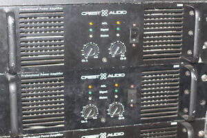 Crest Audio 8002 Professional Power Amplifier Rack Mount