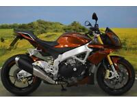Aprilia Tuono V4 APRC 2011**LAUNCH CONTROL, QUICK SHIFTER, ANTI WHEELIE, ABS**