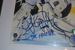 "Jonas ""The Monster"" Gustavsson signed Leafs Picture Kawartha Lakes Peterborough Area image 2"