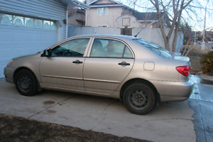 Selling Toyota Corolla in perfect condition