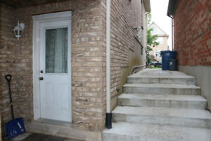 Two Bedroom Legal Walkout Basement in Guelph South