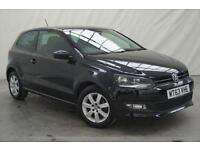 2013 63 VOLKSWAGEN POLO 1.2 MATCH EDITION 3D 59 BHP