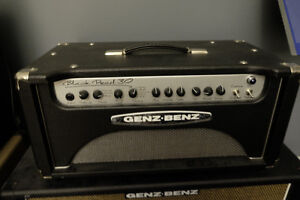 Genz Benz Black Pearl 30 Head and Genz Benz Tribal 2X12 Cab
