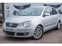 2007 VOLKSWAGEN POLO 1.4 S 5 DOOR AUTOMATIC FULL SERVICE HISTORY REAR PARKING SE