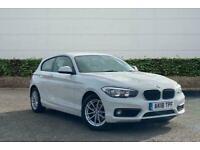 2018 BMW 1 Series 118i [1.5] SE 3dr [Nav] Step Auto Hatchback Automatic Hatchbac