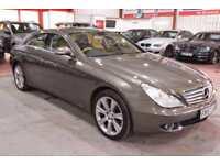 2007 57 MERCEDES-BENZ CLS CLASS 5.5 CLS500 4D AUTO 383 BHP