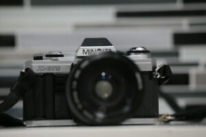 Minolta X-370 with lenses, and more