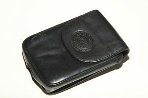 ROOTS leather holster with belt clip